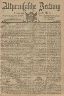 Altpreussische Zeitung, Nr. 101 Mittwoch 1 Mai 1901, 53. Jahrgang