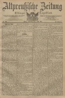 Altpreussische Zeitung, Nr. 102 Donnerstag 2 Mai 1901, 53. Jahrgang