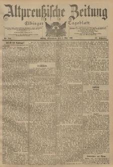 Altpreussische Zeitung, Nr. 104 Sonnabend 4 Mai 1901, 53. Jahrgang