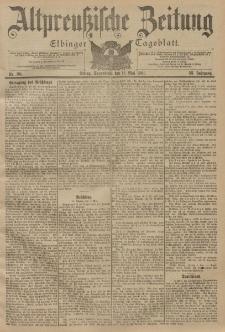 Altpreussische Zeitung, Nr. 110 Sonnabend 11 Mai 1901, 53. Jahrgang