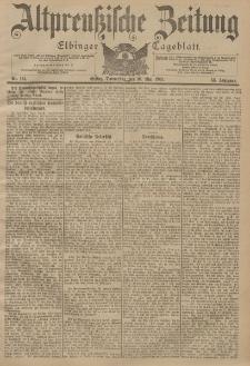 Altpreussische Zeitung, Nr. 114 Donnerstag 16 Mai 1901, 53. Jahrgang