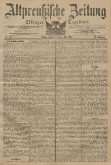 Altpreussische Zeitung, Nr. 116 Sonntag 19 Mai 1901, 53. Jahrgang