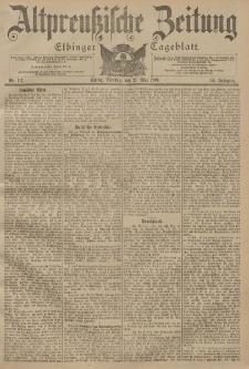 Altpreussische Zeitung, Nr. 117 Dienstag 21 Mai 1901, 53. Jahrgang