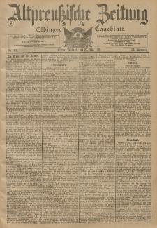 Altpreussische Zeitung, Nr. 118 Mittwoch 22 Mai 1901, 53. Jahrgang