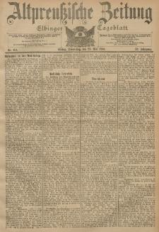 Altpreussische Zeitung, Nr. 119 Donnerstag 23 Mai 1901, 53. Jahrgang
