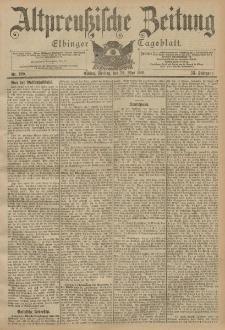 Altpreussische Zeitung, Nr. 120 Freitag 24 Mai 1901, 53. Jahrgang