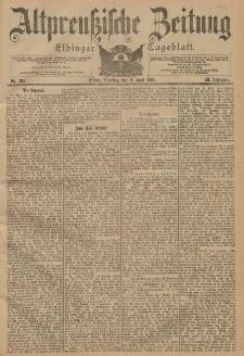 Altpreussische Zeitung, Nr. 134 Dienstag 11 Juni 1901, 53. Jahrgang