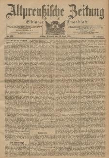 Altpreussische Zeitung, Nr. 135 Mittwoch 12 Juni 1901, 53. Jahrgang