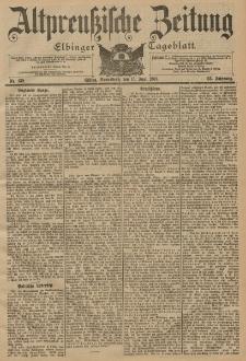 Altpreussische Zeitung, Nr. 138 Sonnabend 15 Juni 1901, 53. Jahrgang