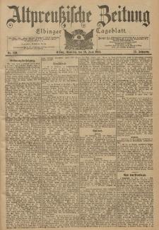 Altpreussische Zeitung, Nr. 139 Sonntag 16 Juni 1901, 53. Jahrgang