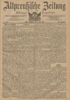 Altpreussische Zeitung, Nr. 141 Mittwoch 19 Juni 1901, 53. Jahrgang