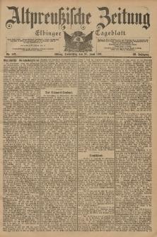Altpreussische Zeitung, Nr. 142 Donnerstag 20 Juni 1901, 53. Jahrgang