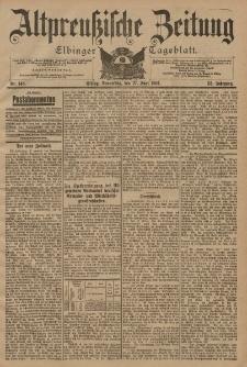 Altpreussische Zeitung, Nr. 148 Donnerstag 27 Juni 1901, 53. Jahrgang