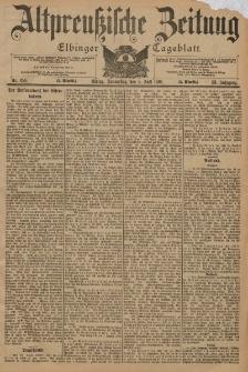 Altpreussische Zeitung, Nr. 154 Donnerstag 4 Juli 1901, 53. Jahrgang