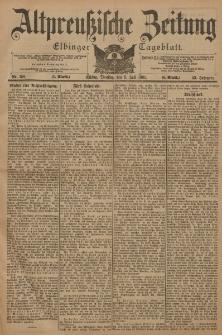 Altpreussische Zeitung, Nr. 158 Dienstag 9 Juli 1901, 53. Jahrgang