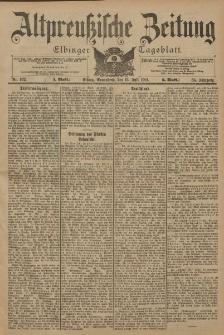 Altpreussische Zeitung, Nr. 162 Sonnabend 13 Juli 1901, 53. Jahrgang