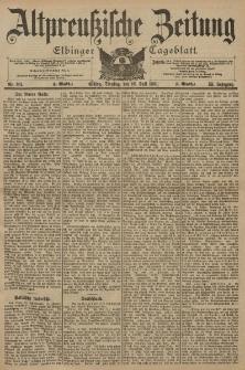 Altpreussische Zeitung, Nr. 164 Dienstag 16 Juli 1901, 53. Jahrgang