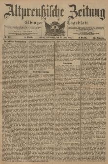 Altpreussische Zeitung, Nr. 166 Donnerstag 18 Juli 1901, 53. Jahrgang
