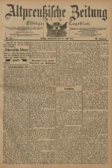 Altpreussische Zeitung, Nr. 174 Sonnabend 27 Juli 1901, 53. Jahrgang