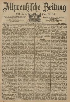 Altpreussische Zeitung, Nr. 176 Dienstag 30 Juli 1901, 53. Jahrgang
