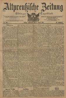 Altpreussische Zeitung, Nr. 180 Sonnabend 3 August 1901, 53. Jahrgang