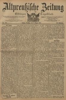 Altpreussische Zeitung, Nr. 188 Dienstag 13 August 1901, 53. Jahrgang