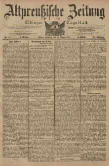 Altpreussische Zeitung, Nr. 193 Sonntag 18 August 1901, 53. Jahrgang