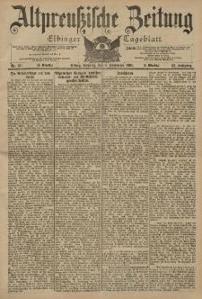 Altpreussische Zeitung, Nr. 211 Sonntag 8 September 1901, 53. Jahrgang