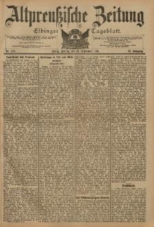 Altpreussische Zeitung, Nr. 215 Freitag 13 September 1901, 53. Jahrgang