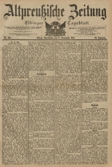Altpreussische Zeitung, Nr. 216 Sonnabend 14 September 1901, 53. Jahrgang