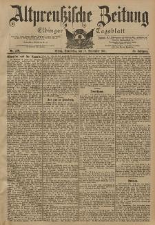 Altpreussische Zeitung, Nr. 220 Donnerstag 19 September 1901, 53. Jahrgang