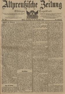 Altpreussische Zeitung, Nr. 226 Donnerstag 26 September 1901, 53. Jahrgang