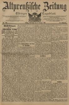 Altpreussische Zeitung, Nr. 231 Mittwoch 2 Oktober 1901, 53. Jahrgang