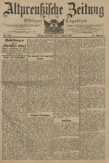 Altpreussische Zeitung, Nr. 234 Sonnabend 5 Oktober 1901, 53. Jahrgang