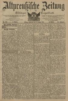Altpreussische Zeitung, Nr. 235 Sonntag 6 Oktober 1901, 53. Jahrgang