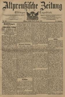 Altpreussische Zeitung, Nr. 236 Dienstag 8 Oktober 1901, 53. Jahrgang