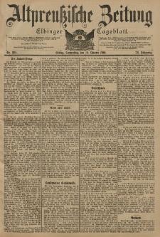Altpreussische Zeitung, Nr. 238 Donnerstag 10 Oktober 1901, 53. Jahrgang