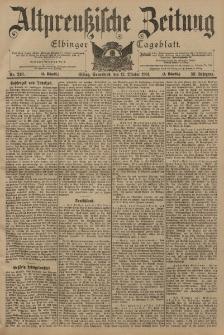 Altpreussische Zeitung, Nr. 240 Sonnabend 12 Oktober 1901, 53. Jahrgang