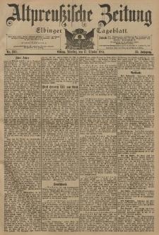Altpreussische Zeitung, Nr. 242 Dienstag 15 Oktober 1901, 53. Jahrgang