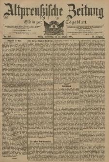 Altpreussische Zeitung, Nr. 250 Donnerstag 24 Oktober 1901, 53. Jahrgang