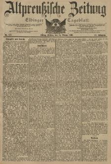 Altpreussische Zeitung, Nr. 251 Freitag 25 Oktober 1901, 53. Jahrgang