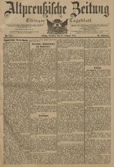 Altpreussische Zeitung, Nr. 254 Dienstag 29 Oktober 1901, 53. Jahrgang