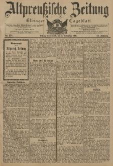 Altpreussische Zeitung, Nr. 258 Sonnabend 2 November 1901, 53. Jahrgang