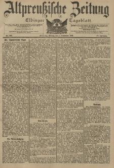 Altpreussische Zeitung, Nr. 263 Freitag 8 November 1901, 53. Jahrgang