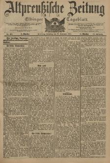 Altpreussische Zeitung, Nr. 265 Sonntag 10 November 1901, 53. Jahrgang