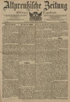 Altpreussische Zeitung, Nr. 266 Dienstag 12 November 1901, 53. Jahrgang