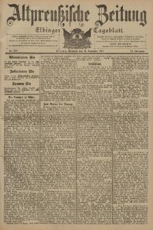 Altpreussische Zeitung, Nr. 278 Mittwoch 27 November 1901, 53. Jahrgang