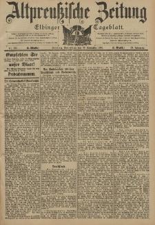 Altpreussische Zeitung, Nr. 281 Sonnabend 30 November 1901, 53. Jahrgang