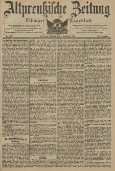 Altpreussische Zeitung, Nr. 283 Dienstag 3 Dezember 1901, 53. Jahrgang