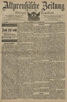 Altpreussische Zeitung, Nr. 284 Mittwoch 4 Dezember 1901, 53. Jahrgang